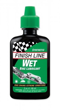 Olej Finish Line WET Cross Country syntetyczny zielony 60 ml