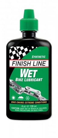 Olej Finish Line WET synt zielony 120 ml