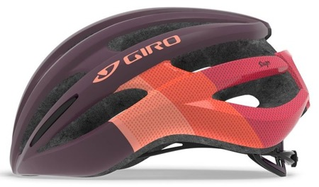 Kask szosowy GIRO SAGA matte dusty purple bars roz. M